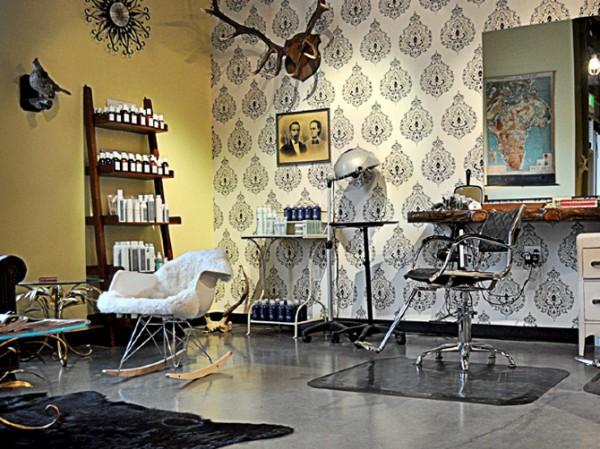 New vintage beauty salon branding identity design for 1950 s beauty salon