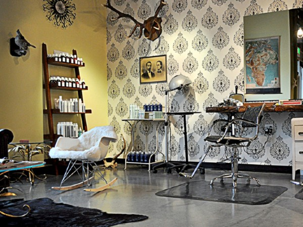 New vintage beauty salon branding identity design for Photo salon design