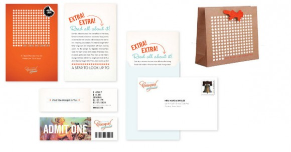 National Cowgirl Hall of Fame brand Identity 04