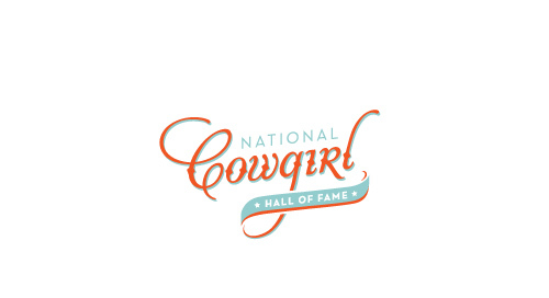 National Cowgirl Hall of Fame brand Identity