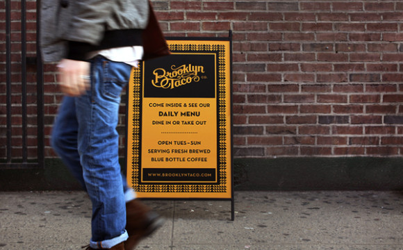 Brooklyn Taco CO brand design 04