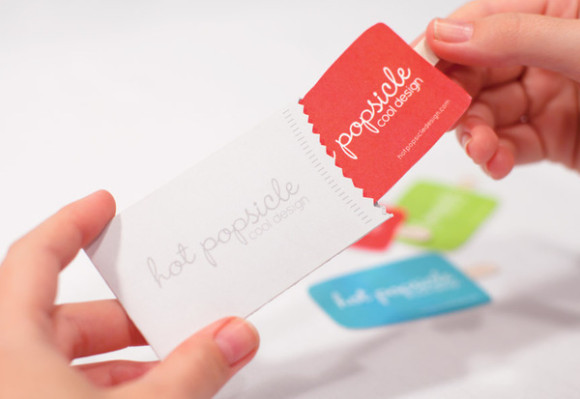 Hot Popsicle business card deign 11