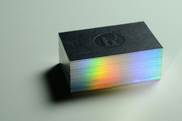 Julien Hauchecorne business card design 18