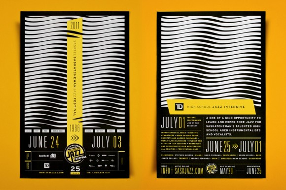 Saskatchewan jazz festival design 01