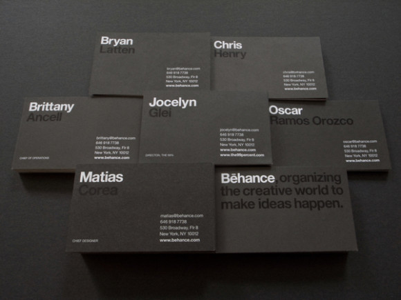 behance business card design 23