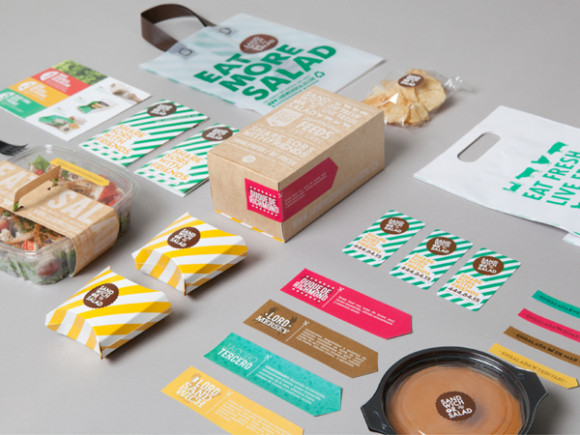 Sandwich or Salad brand identity 02