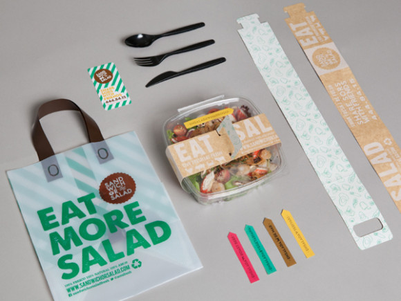 Sandwich or Salad brand identity 03
