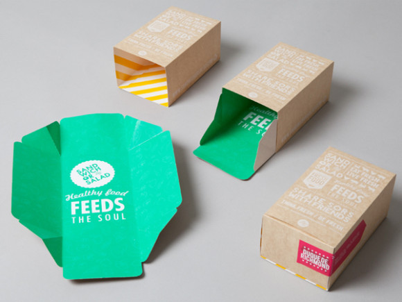 Sandwich or Salad brand identity 05