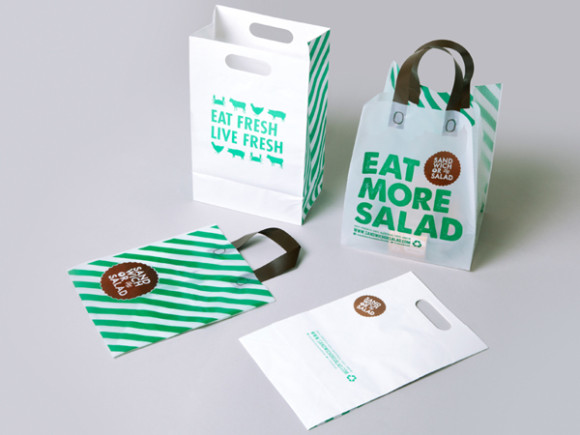 Sandwich or Salad brand identity 06