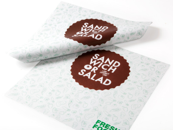 Sandwich or Salad brand identity 10