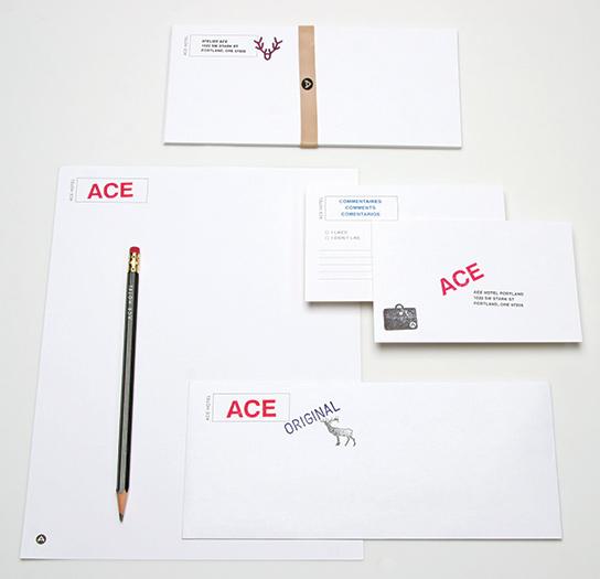 Ace Hotel letterhead