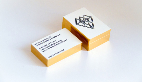 Verena Michelitsch business card deign 15