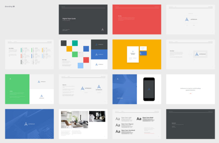 Branding Book Style Guide Templates