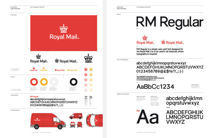 Brand Guidelines Template Pdf | ICON E2 80 93 Royal Mail Rethink 700x462