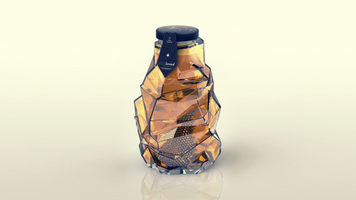 BEEloved honey Packaging Design 42