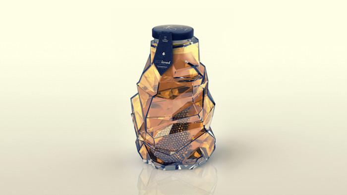 BEEloved honey Packaging Design 42