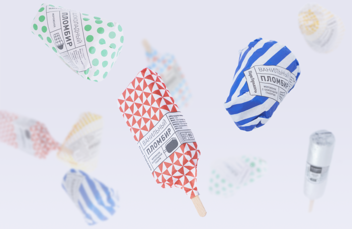 Gorky Park Icecream Packaging Design 59