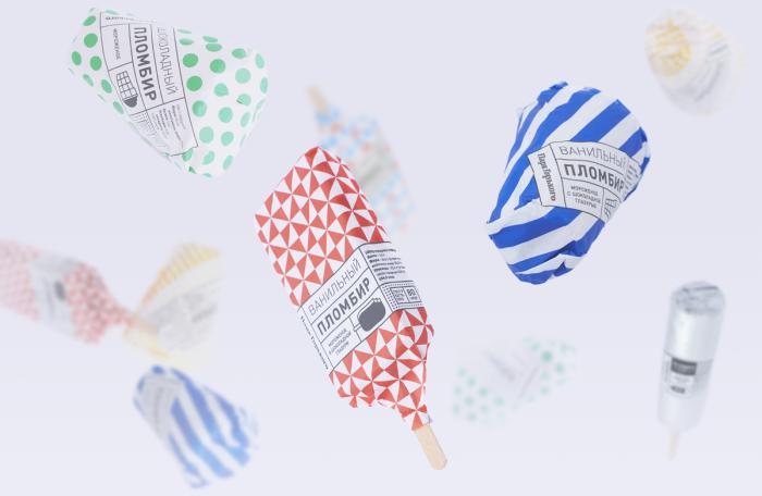 Gorky Park Icecream Packaging Design 59