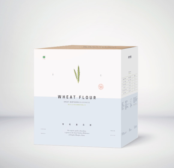 Great Northern Wilderness Organic Flour Packaging Design 37