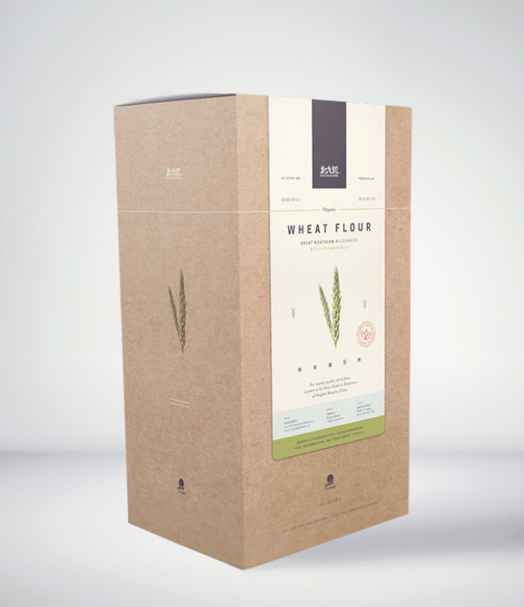 Great Northern Wilderness Organic Flour Packaging Design 38