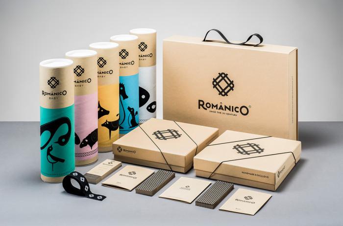 Românico Bordados Packaging Design 48