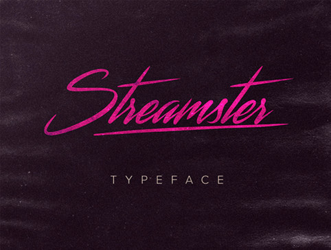 Streamster-free-font
